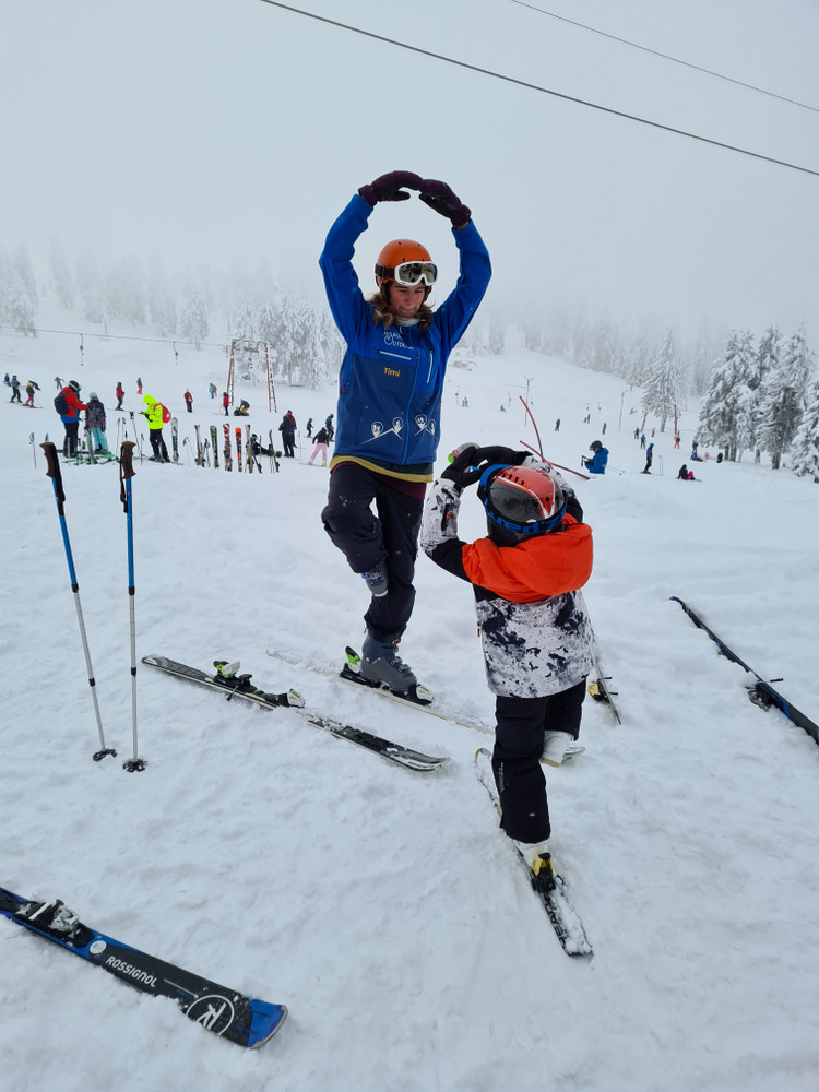 Intalnirea de schi unic.