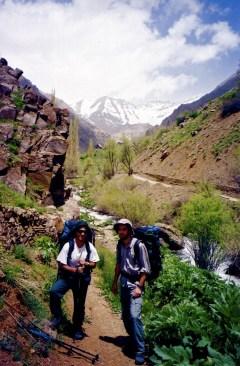 With Mohammad, Kholeno Mountains IRAN