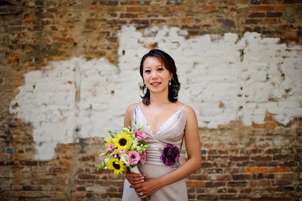 Bride portrait Iowa City