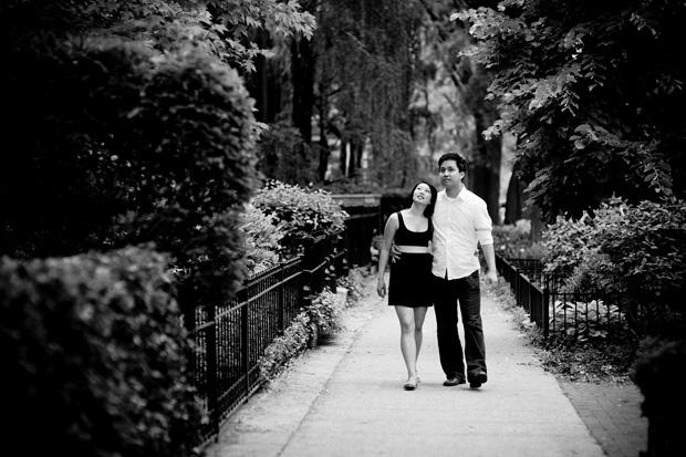 walking around in Lincoln Park