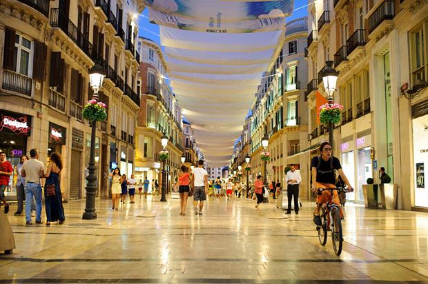 Calle Marques de Lanos Malaga Spain