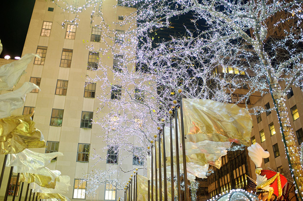 rockefeller plaza christmas decorations
