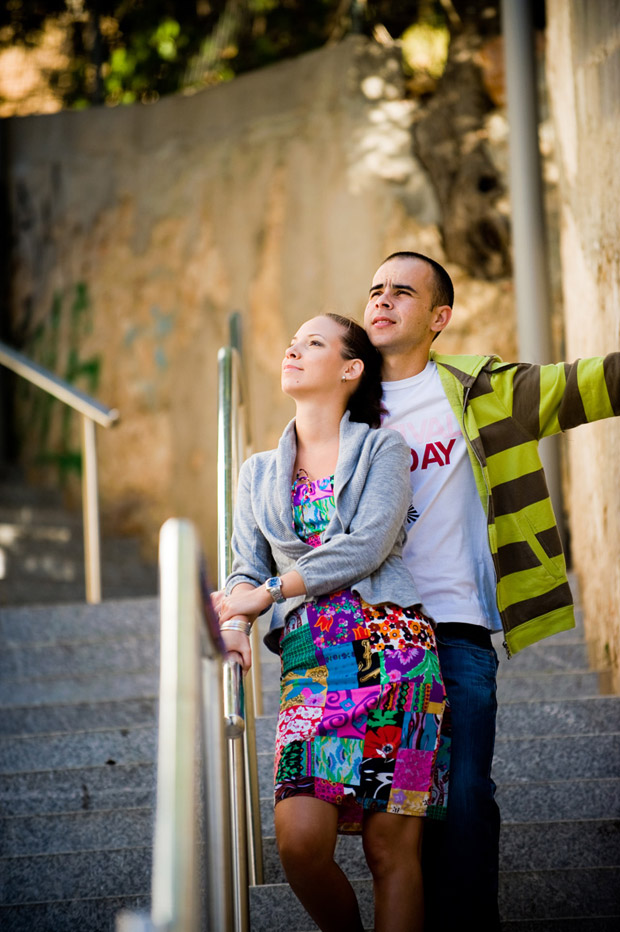 Albufeira, Portugal engagement session
