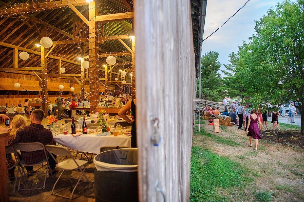 Festhalle Barn wedding
