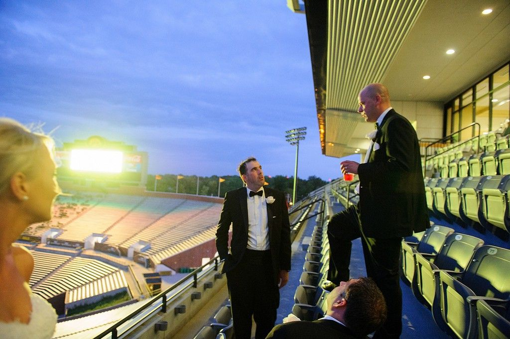 kinnick stadium wedding
