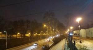 В Стерлитамаке осветили пешеходную зону возле ж/д путей по улице Худайбердина