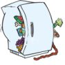 funky smells in your fridge