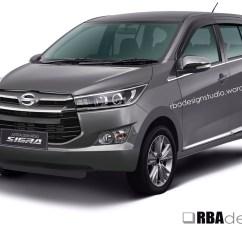 Toyota Grand New Veloz Price In India All Camry Malaysia Aditbrahmanah Rbadesignstudio Change The Front Fascia Of 2016 Daihatsu Sigra With Innova