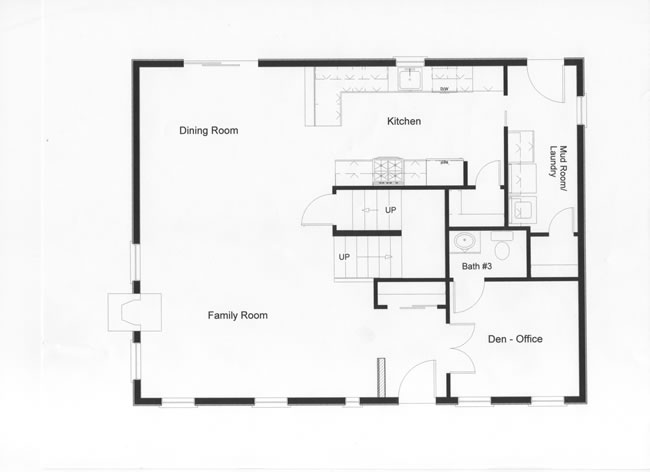 2 Story Colonial Floor Plans, Monmouth County,Ocean County
