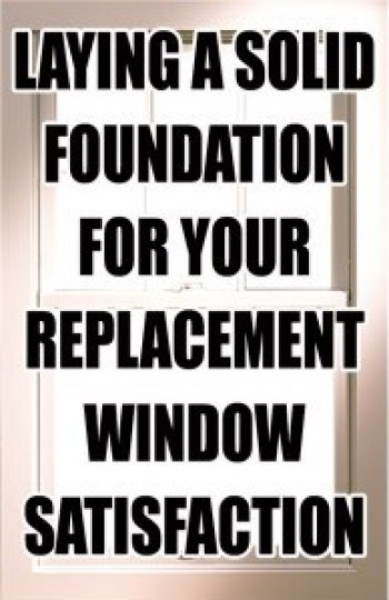 Long Island Replacement Window Foundation