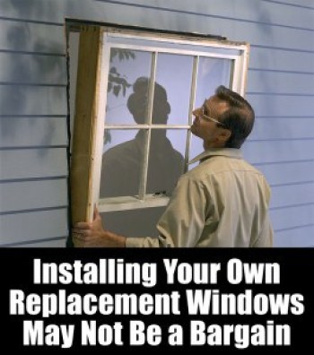 Installing replacement windows on Long Island