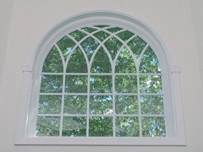 Long Island arched replacement window