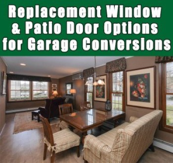 Long Island Replacement Window Garage Conversions