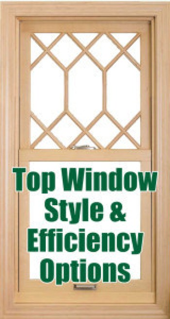 Long Island Replacement Window Style & Efficiency