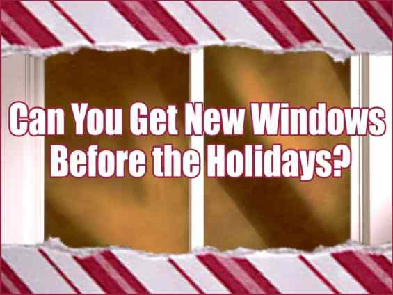Replacement Windows Long Island Holidays