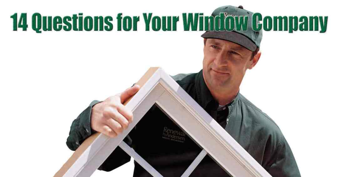 Long Island Replacement Windows Questions