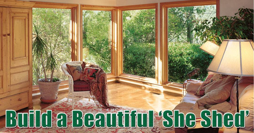 Long Island Replacement Windows She Shed