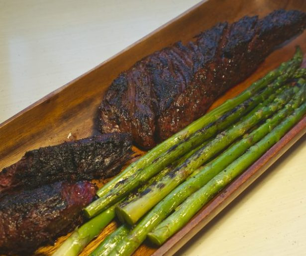 How to grill hanger steak