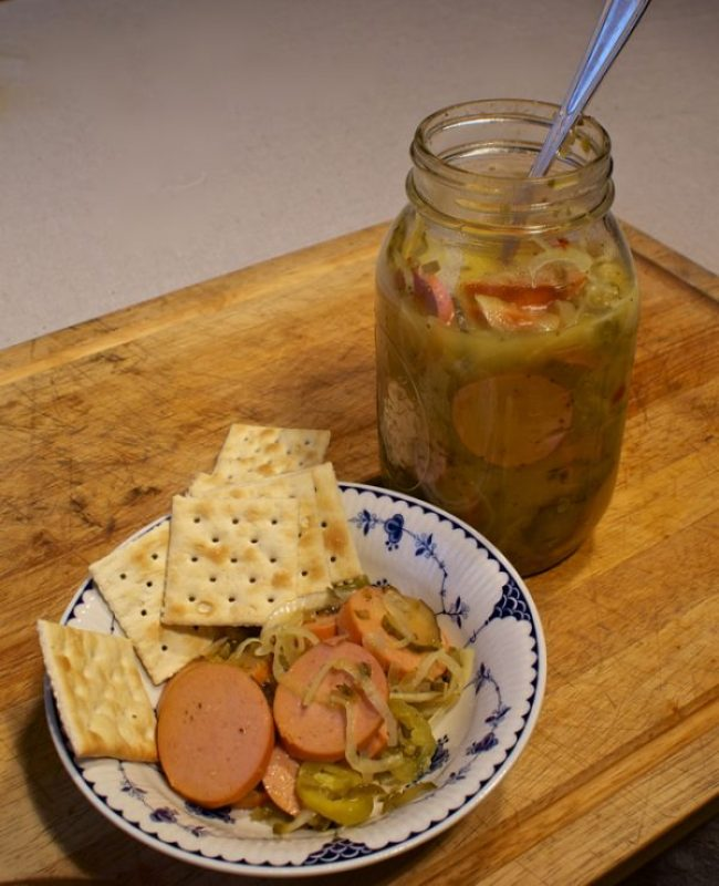 Pickled Bologna Chicago Style