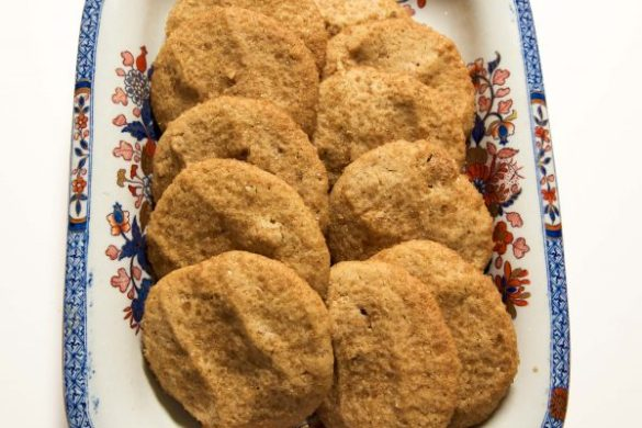 Spiced Nashville Cornmeal Cookies