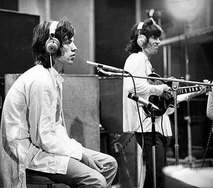 Mick and Keef Muscle Shoals 1969
