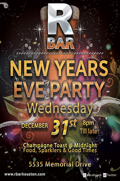 RBar New Years Eve Party