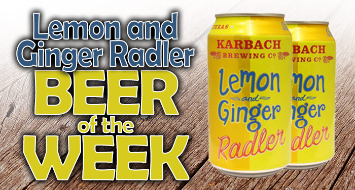 Lemon and Ginger Radler
