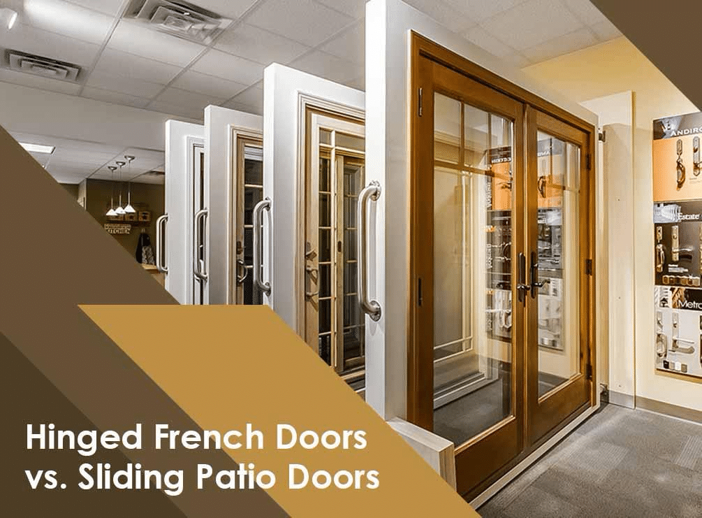 hinged french doors vs sliding patio doors