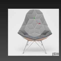 Chair Design Model Ivory Rosette Covers 3d Modeling How To The Jsn Tiles Architectural Once I Had Base Just Started Pushing And Pulling Vertices Trying Fit Simple First Shape Made Before