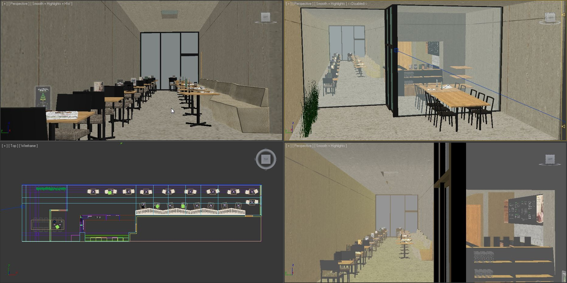 Making of Starbucks Coffee  3D Architectural