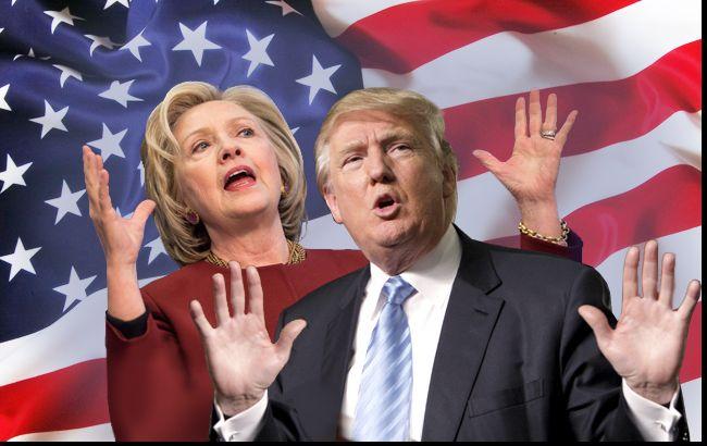 Выборы в США Клинтон и Трамп вытесняют конкурентов из