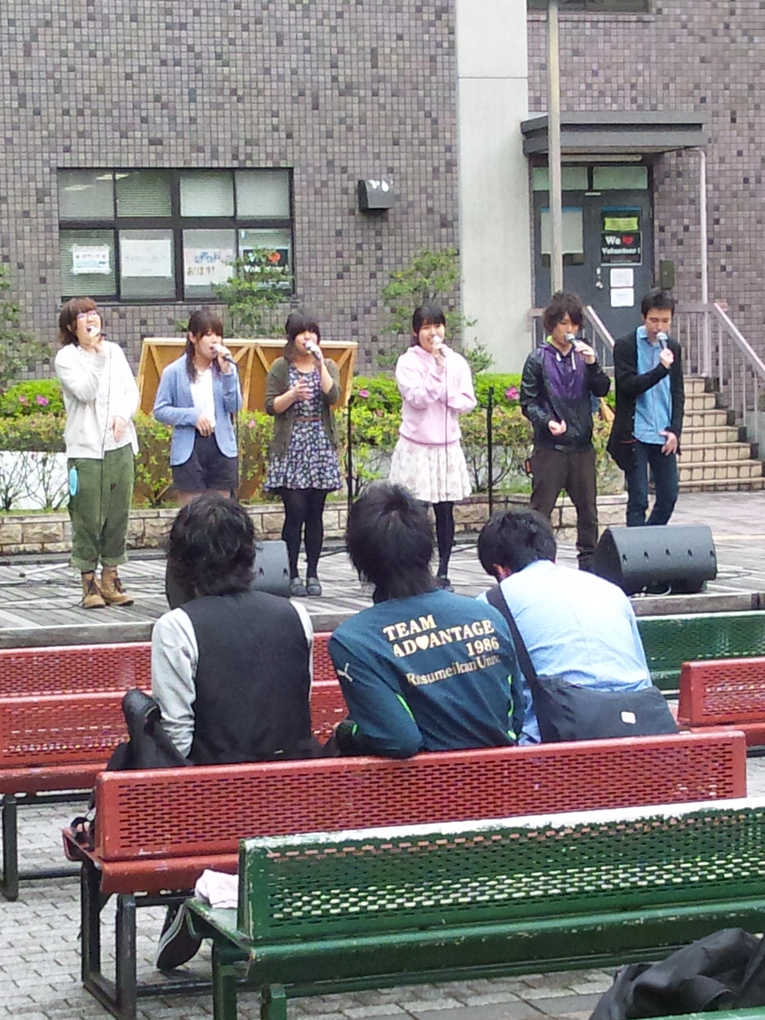 clef・青空ストリートライブ