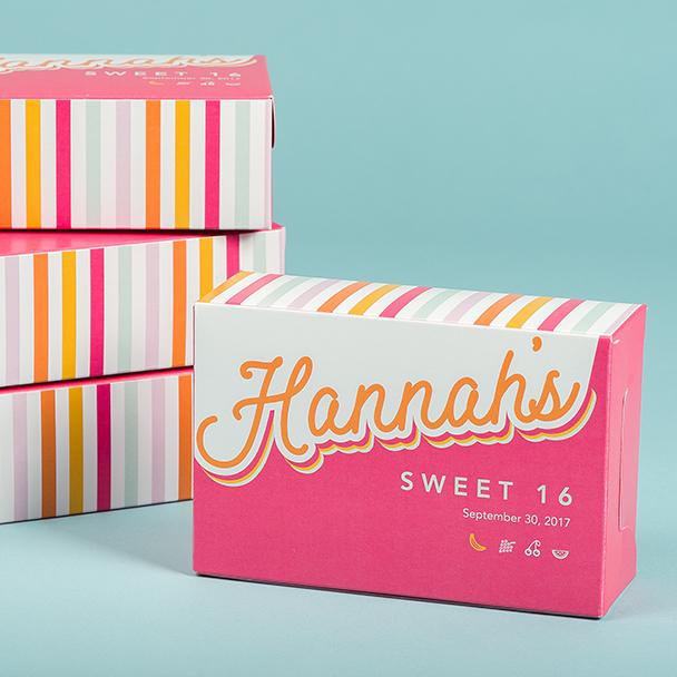 Custom folded carton