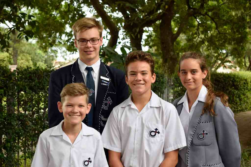 Richards Bay Christian School (RBCS) swimmers selected for King Cetshwayo Team