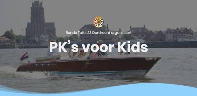 PK Voor Kids op het Water - Ronde Tafel 23 Dordrecht