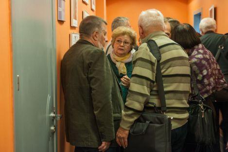 Эксперты обсуждают выставку