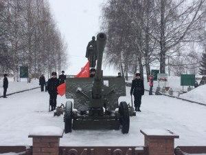 День защитника Отечества отметили митингом и концертом