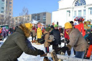 На ОбьГЭСе весело проводили зиму