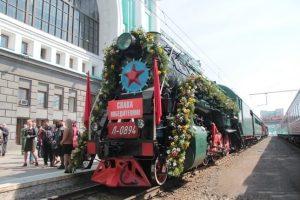 Поезд Победы прибудет в Новосибирск 12 августа