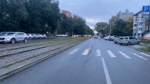 16-летнего новосибирца сбили на улице Блюхера