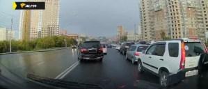 В Новосибирске водитель «Инфинити» без номеров сбил женщину на перекрёстке