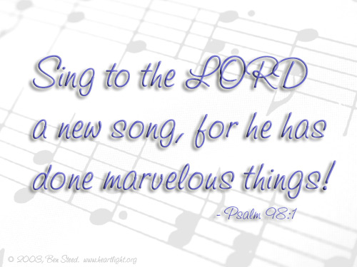 Singing to God and to One Another