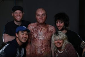 IMG 1473 300x200 - Joe Badiali, Eric Koo, Tim Estes & Annie Tagge with Will Thorton in makeup