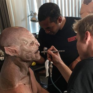 IMG 2855 300x300 - Ian & Sandy laying down some RBFX prosthetics on Sidney Cumbie