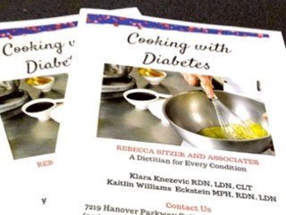 diabetes dietitian cookbook