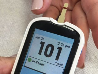 diabetes dietitian glucose monitoring