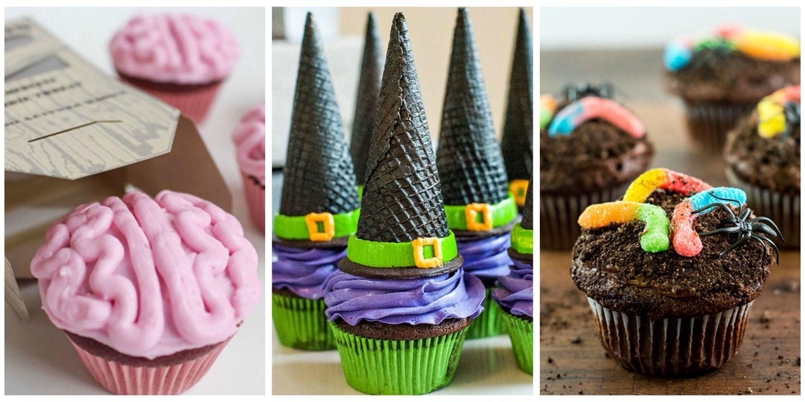 16 Easy Halloween Cupcake Recipes
