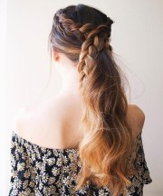 ponytail hairstyles - 5 easy