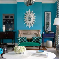 Teal Blue Living Room Curtains Wall Decor Ideas Images Paint Colors For Every - Color To ...