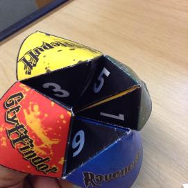 Fortune Teller - Harry Potter Book Night at North Kensington Library, February 2015